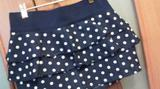 Новая стильная джинсовая юбка с баской