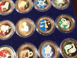 Знаки зодиака. Набор. Монетообразные жетоны