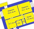 2-ком. квартира, 51 кв.м., 10 из 14 этаж, во вторичке